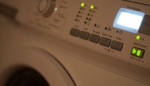 Стиральная машинка в туалете