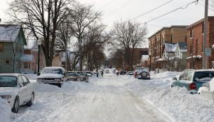 Уборка дорог зимой