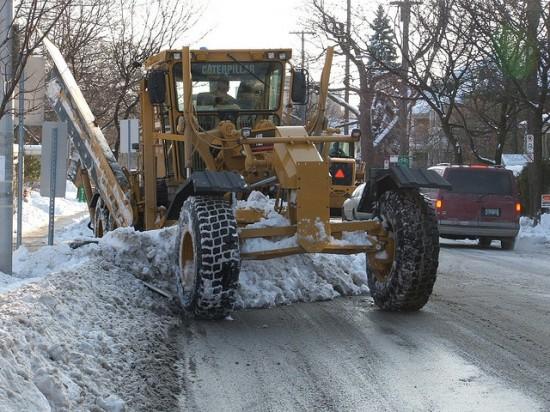 Уборка снега в Ульяновске