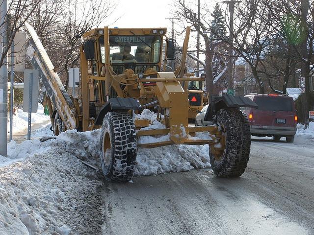 Уборка дорог и территорий