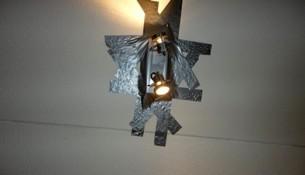 Светильник на скотче