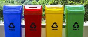 Пункты раздельного сбора мусора