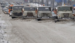 Московские дороги зимой обработают новым реагентом