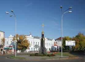 На центральных улицах Ульяновска проводят ремонт фасадов зданий