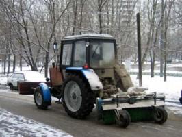 Днём 23 октября на улицах Ульяновска работает 50 единиц спецтехники