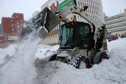За уборку снега наказали штрафами