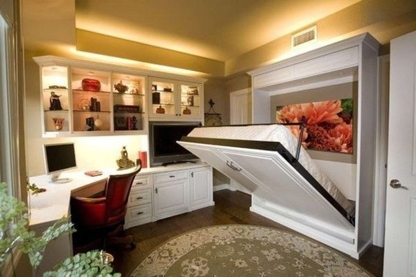 Используйте многофункциональную мебель