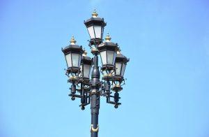 В Москве устанавливают складные фонари