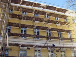 Ремонт фасадов многоквартирных домов