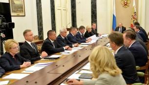 Михаил Мень доложил Президенту страны о начале отопительного сезона в регионах России