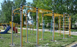 На внутридворовых территориях Ульяновска установят новые спортивные комплексы