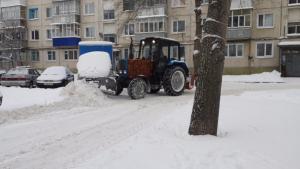 Управляющие компании Ульяновска привлекут к ответственности за некачественную очистку дворов