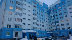 Многоквартирный дом, построенный в рамках реализации региональной адресной программы по переселению граждан из аварийного жилья