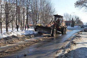 Системы ливневой канализации Ульяновска очищаются в круглосуточном режиме