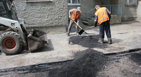 В Ульяновске продолжается круглосуточный ремонт дорог