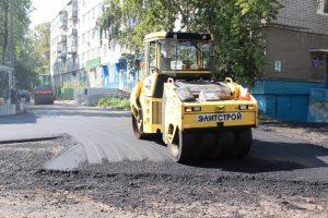 Магистрали Ульяновска ремонтируются в круглосуточном режиме