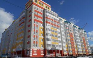Многоквартирный дом по улице Емлютина в Орле, в котором были приобретены квартиры в рамках реализации 185-ФЗ