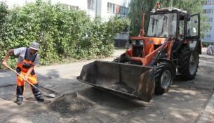 Сегодня в Ульяновске ремонтируют десять дворов