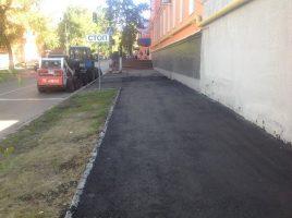 Сегодня в Ульяновске идёт текущий ремонт четырёх тротуаров