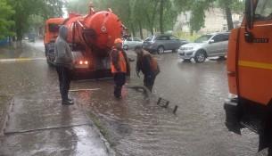 Ульяновские ливнёвщики работают в усиленном режиме
