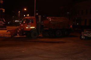 Дорожные службы Ульяновска готовы к борьбе с гололёдом