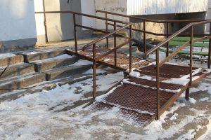 В Ульяновске потратили почти два миллиона рублей на пандусы в этом году