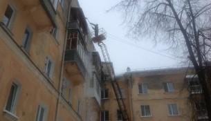 Управляющие компании Ульяновска активизировали очистку кровель
