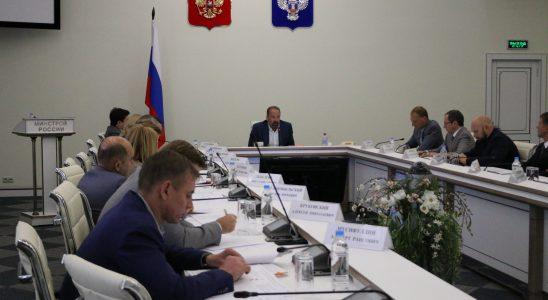 Новые требования закона о долевом строительстве обсудили в Минстрое России