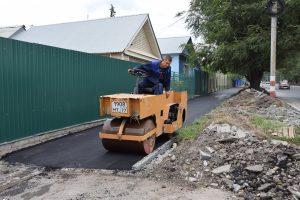 В Ульяновске продолжается масштабный ремонт тротуаров