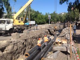 В Ульяновске утвердили график гидравлических испытаний