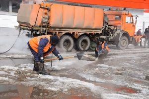 В Ульяновске отпаривают ливневки