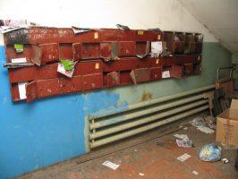 Кто должен ремонтировать почтовые ящики в подъездах?